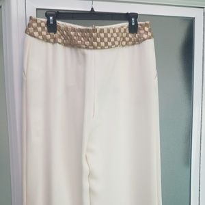 Valentino silk trousers